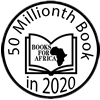 Books for Africa Logo - 50 Millionth Book