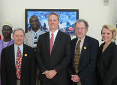 Tom Warth and the BFA Delegation met with US diplomatic officials while in the Gambia.