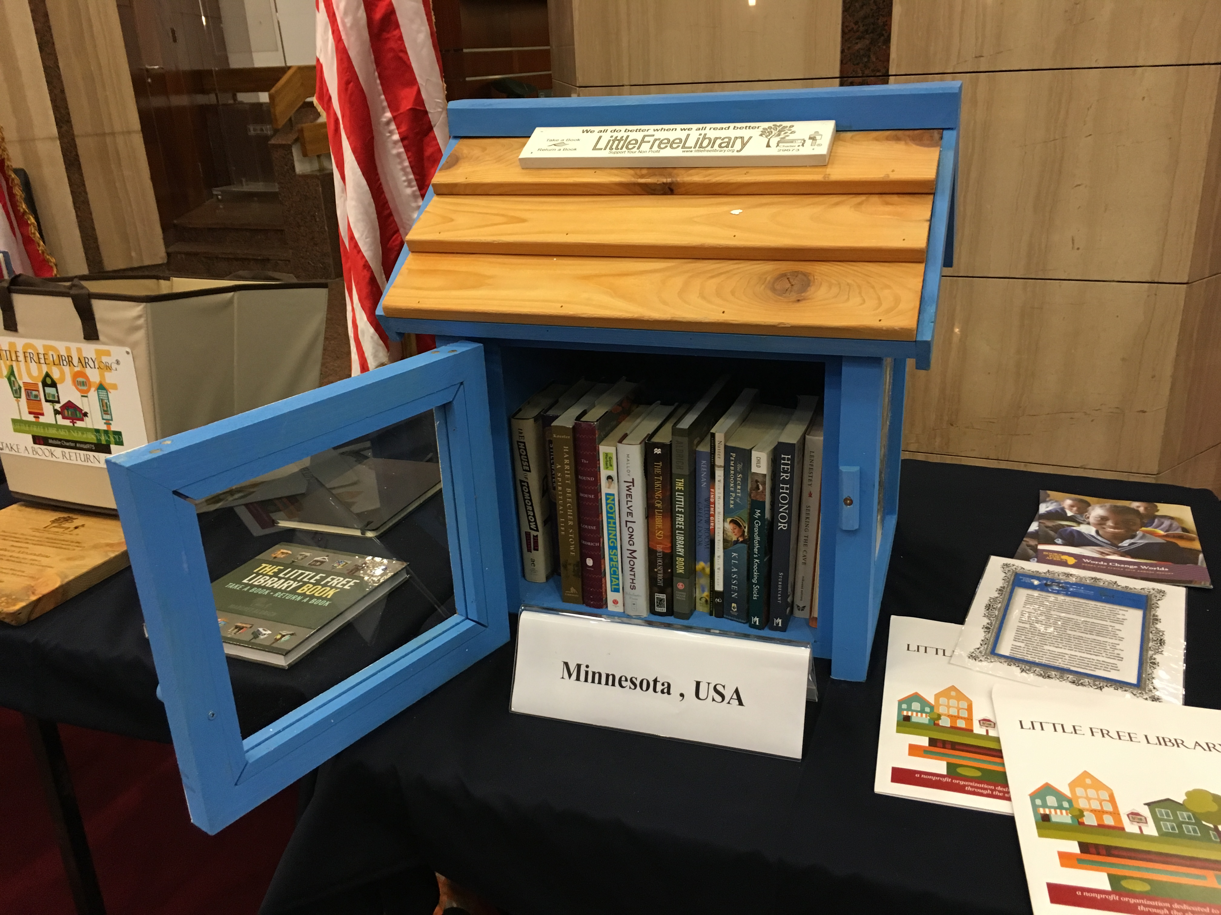 we are humbled to have a little free library book exchange in the worlds most famous library said todd h bol co founder and executive director of - Free Book Pictures